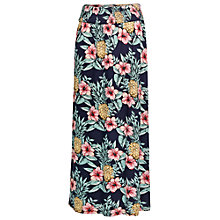 Buy Fat Face Jade Pineapple Punch Maxi Skirt, Multi Online at johnlewis.com