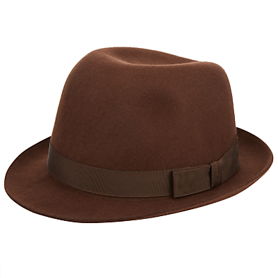Christys Henley Wool Felted Trilby £60.00 AT vintagedancer.com