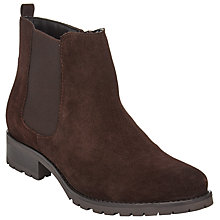 Buy John Lewis Quinn Suede Ankle Boots, Brown Online at johnlewis.com