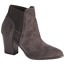 Buy Kin by John Lewis Prima Suede Ankle Boots, Grey Online at johnlewis.com