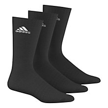 Buy Adidas Performance Thin Crew Socks, Pack of 3 Online at johnlewis.com