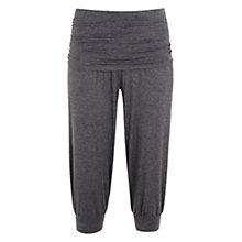 Buy Manuka Awakening Yoga Capri Pants, Stone Online at johnlewis.com