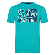 Buy Animal Boys' Hawk Inverted Logo T-Shirt, Blue Online at johnlewis.com
