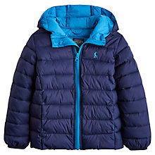 Buy Little Joule Children's Cairn Packaway Jacket, Navy Online at johnlewis.com
