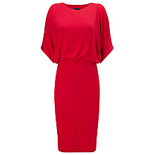 Buy Phase Eight Brooke Batwing Sleeve Dress, Carmin Online at johnlewis.com