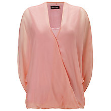 Buy Phase Eight Hayden Silk Blouse, Blush Online at johnlewis.com
