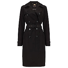 Buy Phase Eight Tiziana Trench Coat, Black Online at johnlewis.com