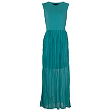 Buy French Connection Carnival Maxi Dress, Caloosa Blue Online at johnlewis.com