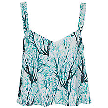 Buy French Connection Sea Fern Top, West Lake Multi Online at johnlewis.com