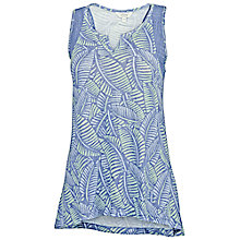 Buy Fat Face Linen Notch Mini Madison Vest, Indigo Online at johnlewis.com