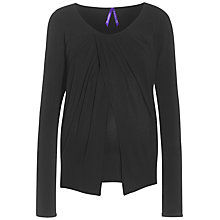 Buy Séraphine Atlanta Maternity Nursing Top, Black Online at johnlewis.com