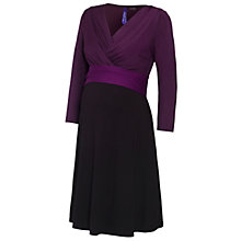 Buy Seraphine Adelaide Maternity Dress, Blackberry Online at johnlewis.com