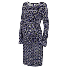 Buy Seraphine Cassie Maternity Chevron Dress, Multi Online at johnlewis.com
