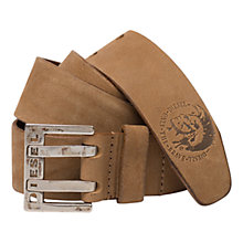Buy Diesel Leather Belt Online at johnlewis.com