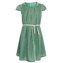 Buy John Lewis Girls' Velour A Line Dress Online at johnlewis.com