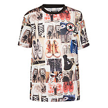 Buy Converse Boys' Sublimated T-Shirt, Multi Online at johnlewis.com