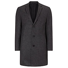 Buy CK Calvin Klein Melange Epsom Coat, Iron Online at johnlewis.com