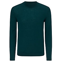 Buy Calvin Klein Sandron Fitted Polo Neck Wool Jumper Online at johnlewis.com