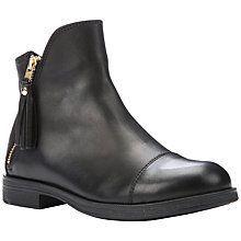 Buy Geox Agata Ankle Boots, Black Online at johnlewis.com