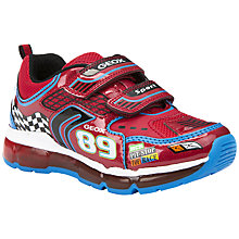 Buy Geox Android Rip-Tape Light Up Trainers Online at johnlewis.com