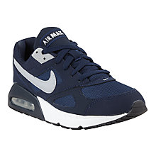 Buy Nike Air Max Ivo Trainers, Blue/White Online at johnlewis.com