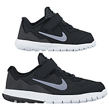 Buy Nike Flex Experience Trainers, Black Online at johnlewis.com