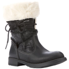 Buy Geox Sofia Abx Leather Boots, Black Online at johnlewis.com