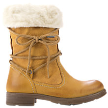 Buy Geox Sofia Abx Leather Boots, Yellow Online at johnlewis.com