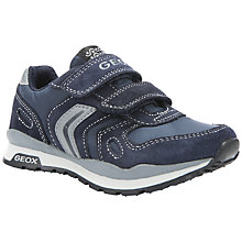 Buy Geox Pavel Trainers, Navy Online at johnlewis.com