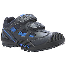 Buy Geox Savage Rip-Tape Trainers, Navy/Blue Online at johnlewis.com
