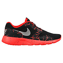 Buy Nike Kaishi Lava Running Shoes, Black/Red Online at johnlewis.com