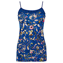 Buy Oasis Ana Marie T-shirt, Multi Blue Online at johnlewis.com