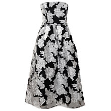 Buy True Decadence Organza Bandeau Dress, Black/White Online at johnlewis.com