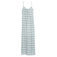 Buy Mango Printed Long Dress, Light Beige Online at johnlewis.com