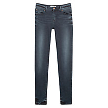 Buy Mango Skinny Olivia Jeans, Open Blue Online at johnlewis.com