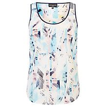Buy Warehouse Abstract Print Silk Vest, Multi Online at johnlewis.com