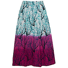 Buy French Connection Sea Fern Poplin Skirt, West Lake Multi Online at johnlewis.com