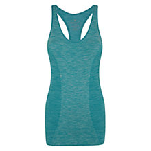 Buy Manuka Seamless Racer Top, Aqua Online at johnlewis.com