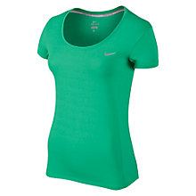 Buy Nike Dri-FIT Contour Running T-Shirt Online at johnlewis.com