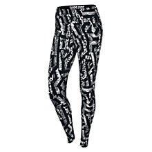 Buy Nike Leg-A-See Allover Print Running Tights Online at johnlewis.com