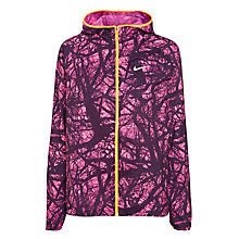 Buy Nike Enchanted Impossibly Light Running Jacket, Pink Pow/Bright Citrus Online at johnlewis.com