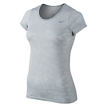 Buy Nike Dri-FIT Knit Contrast Running T-Shirt Online at johnlewis.com