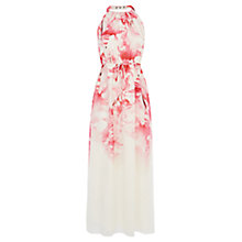 Buy Coast Petite Courtney Floral Maxi Dress, Multi Online at johnlewis.com