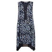 Buy Mint Velvet Sara Print Zip Front Dress, Multi Online at johnlewis.com