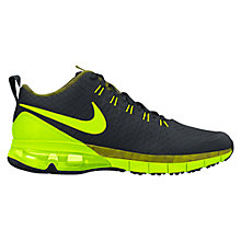 Buy Nike Air Max TR180 Amp Men's Cross Trainers, Black/Volt Online at johnlewis.com