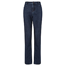 Buy John Lewis Mid Wash Straight Leg Jeans, Indigo Online at johnlewis.com