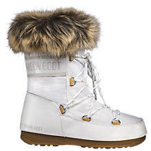 Buy Moon Boot W.E. Monaco Faux Fur Low Boots Online at johnlewis.com