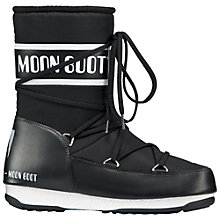 Buy Moon Boot W.E. Sport Mid Winter Boots, Black Online at johnlewis.com