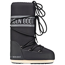 Buy Moon Boot Neo Waterproof Long Boots, Black Online at johnlewis.com