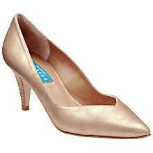 Buy Collection WEEKEND by John Lewis Annecy Court Shoes, Gold Online at johnlewis.com